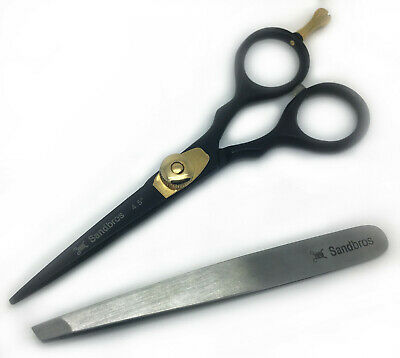 Professional Moustache Scissors and Beard Trimming Scissors Extremely Sharp BS4.