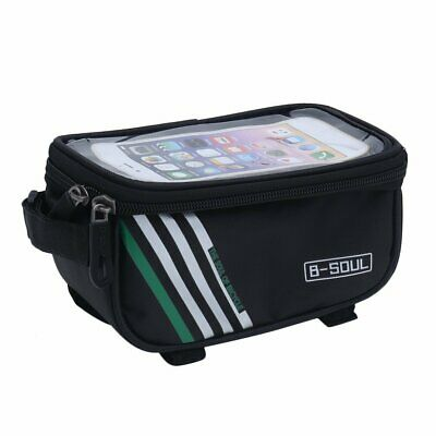 B-SOUL Bicycle Mobile Phone Pouch Touch Screen Top Frame Tube Storage Bag