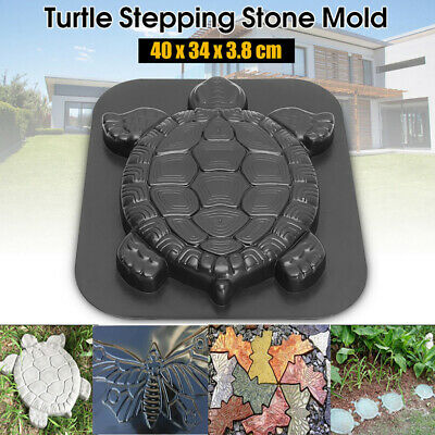 Huge Turtle Stepping Stone Plaster or Concrete Mold 1246 Moldcreations