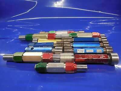 20Pc Smooth Pin Plug Gage Lot 1.3750 1.500 Over Under Size Onsize Go No Go 1 3/8