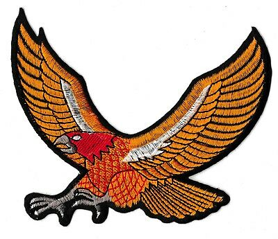 Ecusson patche Aigle Eagle iron-on patch thermocollant patch badge