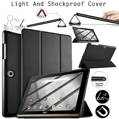 Smart Stand Flip Leather Shockproof Case Cover Acer Iconia One 10 (B3-A50) 10.1""