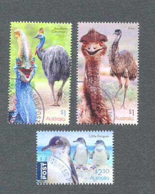Australia-Flightless Birds fine used cto set 2019