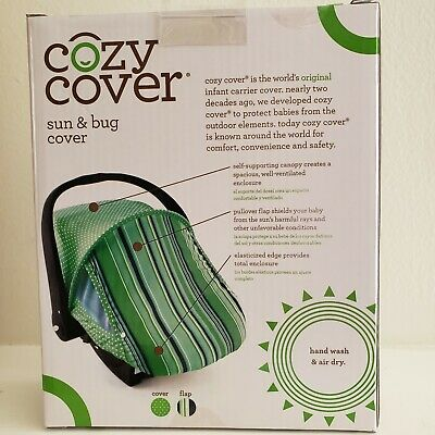Cozy Cover Sun And Bug Cover Fits Standard Baby Carriers