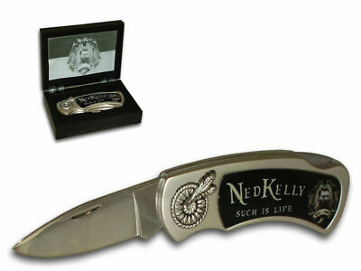 Ned Kelly Collectable Pocket Knife - Brand New