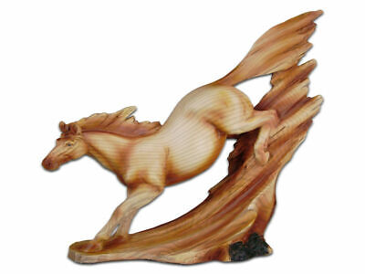 The Cherokee River Collection - Running Horse Resin Plaque - Brand New