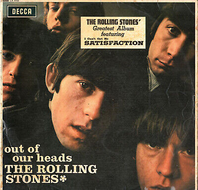 LP Vinyl THE ROLLING STONES: OUT OF OUR HEADS Decca Made in England 1965 Mono