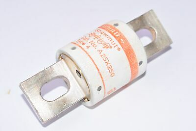 NEW Gould Shawmut A25X250 Type 4 Fuse