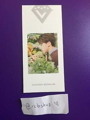 Seventeen THE8 / Minghao Love & Letter Bookmark Official Photocard