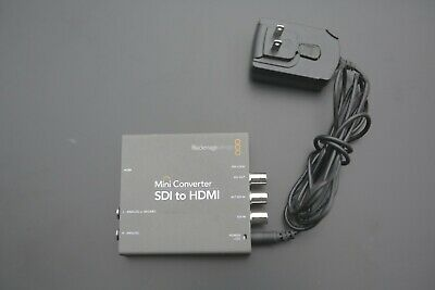 Black Magic Mini Converter SDI to HDMI with Power Supply