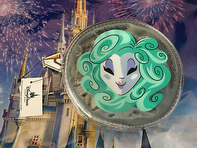 Disney Parks Haunted Mansion Madame Leota Small Pouch Bag Case Clear Zipper New