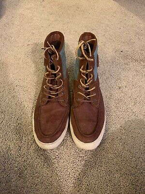 Polo Men's Size 10.5 Leather Boots