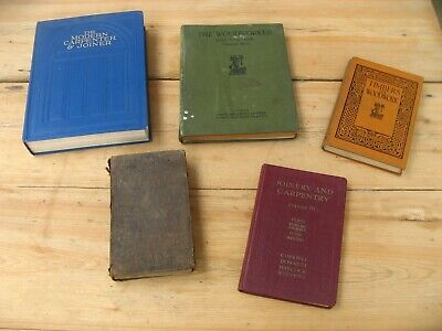 Vintage Woodwork Carpentry Joinery Books