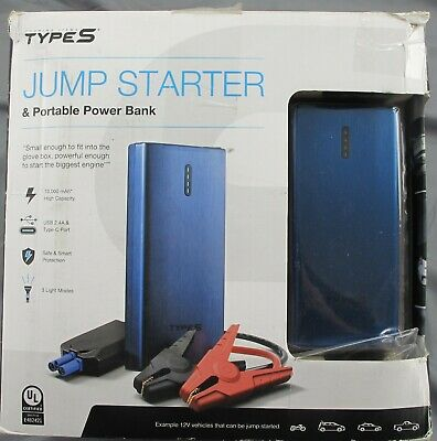 Winplus AC56789 Jump Starter Portable Power Bank Type-S 10,000mAh Scratched