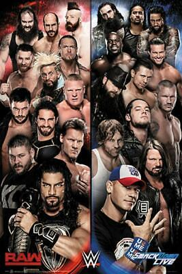 WWE SUPERSTARS MAXI POSTER BRAND NEW /& SEALED 61CM X 91CM POSTER