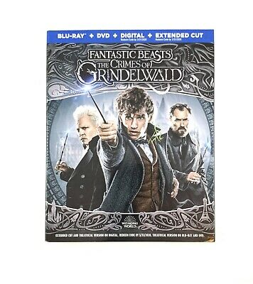 Fantastic Beasts: The Crimes Of Grindelwald Blu-Ray / DVD (No Digital Copy)