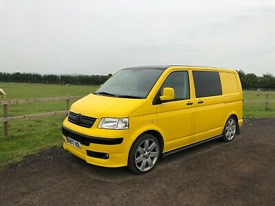 2007 Vw Transporter T5 T32 102 Bhp Swb With Tailgate Air Con 5 Seater Kombi