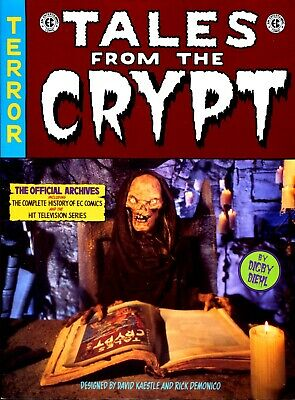 Tales From The Crypt Official Archives 1St Edition 1996 Digby Diehl Excellent