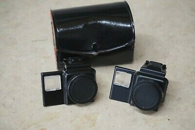 Vtg Auxiliary Lens Set Telephoto and Wide Angle for Kodak Disc Cameras