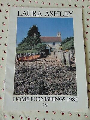 Laura Ashley Vintage 1982 Home Decoration/ Furnishings Catalogue 79 pgs - Rare