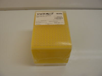 Vwr 200Ul Pipet Tip- Tipstation System Sterile Clear Tip Yellow Rack 5.1Cm New