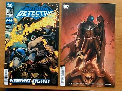 DETECTIVE COMICS #1005 Main Cover + Stjepan Sejic Variant Set DC 2019 NM+