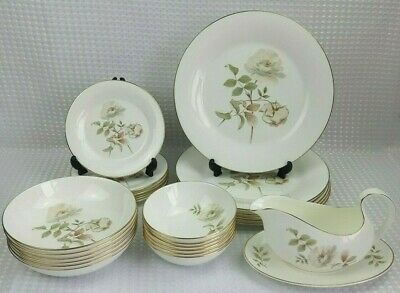 Royal Doulton Yorkshire Rose Bone China Dinner Set Items - Sold Individually