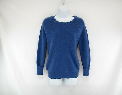 fae2540766dbd J. Crew Women's 100% Cashmere Waffle Knit Pullover Sweater Size S #CA399