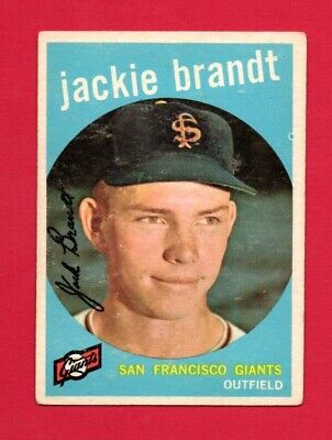1959 Topps Baseball Jackie Brandt #297 Vg (Combined Shipping Offered)