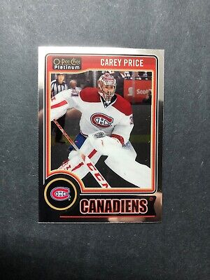 2014-15 OPC Platinum Base #76 Carey Price