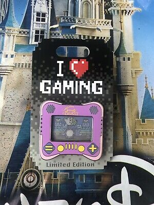 Disney Parks I Heart Gaming Beauty And The Beast Pin LE1500 In Hand