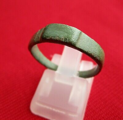 Hallstatt period , ancient Celtic bronze ring in fantastic condition