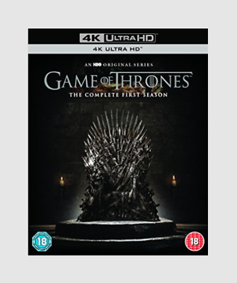 Game of Thrones: The Complete First Season 4K Blu-ray Adventure Fantasy Series