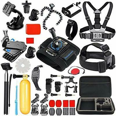 SmilePowo 42-in-1 Action Camera Accessorries for GoPro Hero 7 6 5 Carrying Case