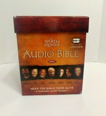 THE WORD OF Promise Complete Audio NKJV Bible 79 CD Set OT