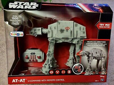 Star Wars The Force Awakens U-Command Remote Control AT-AT New