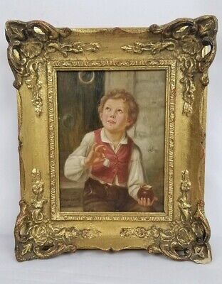 Antique C.J Havenith Painting On Board