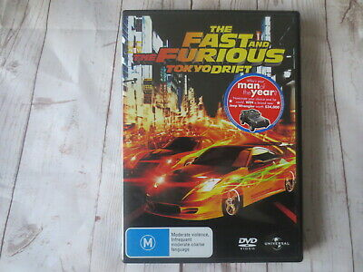 The Fast and The Furious Tokyo Drift DVD R2,4,5 #7194
