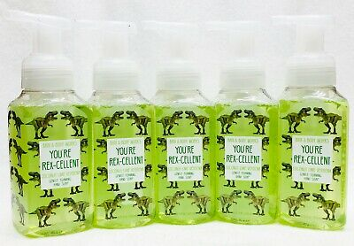5 Bath Body Works YOURE REXCELLENT COCONUT LIME VERBENA Gentle Foaming Hand Soap