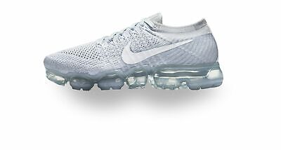 Nike Air Vapormax Flyknit  Grey White 849558-004 New - Size 10