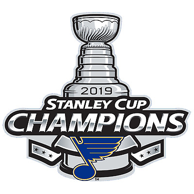 St. Louis Blues 2019 NHL Stanley Cup Champions Vinyl Sticker Car Truck Decal
