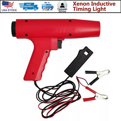 Car Inductive Timing Light Gun Tester Engine Ignition Tester Xenon Lamp 8000 RPM
