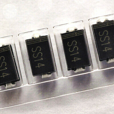 10PCS SMD Schottky Diode 1N5819 IN5819 SS14 SMB DO-214AA