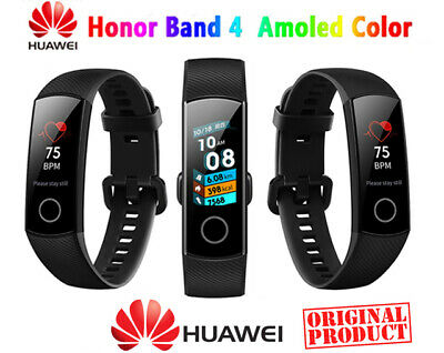 🌟Original HUAWEI Honor Band 4 Fitness Tracker Pedometer Cardiofrequenzimetro 🌟
