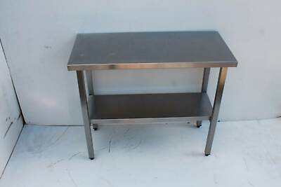 custom made stainless steel bench  with self