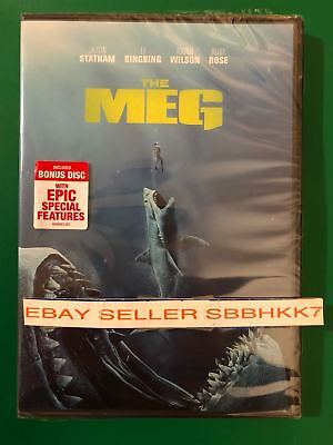 THE MEG DVD 2 DISC *AUTHENTIC DVD READ* Brand New Free Shipping W/Tracking