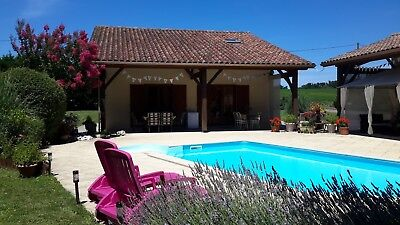 Beautiful French Villa Private Heated Pool in Charente Dordogne area of France