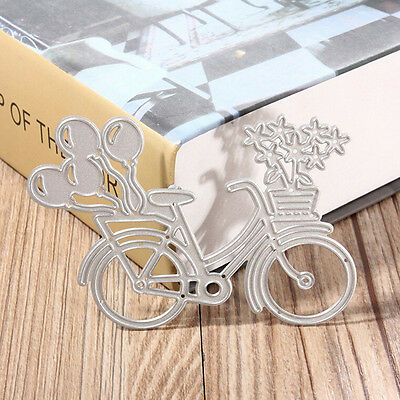 Bicycle Metal Cutting Dies Stencil Scrapbooking Paper Card Album Photo Craft Kr