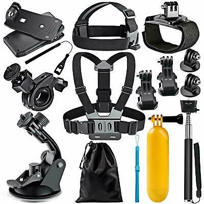 12-In-1 Action Camera Accessory Kit for AKASO GoPro Hero Session 1 2 3 3+ 4 WIFI