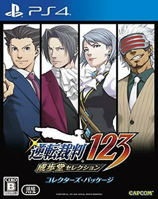 PS4 Phoenix Wright Ace Attorney Trilogy Collector's Edition +Soundtrack... Japan